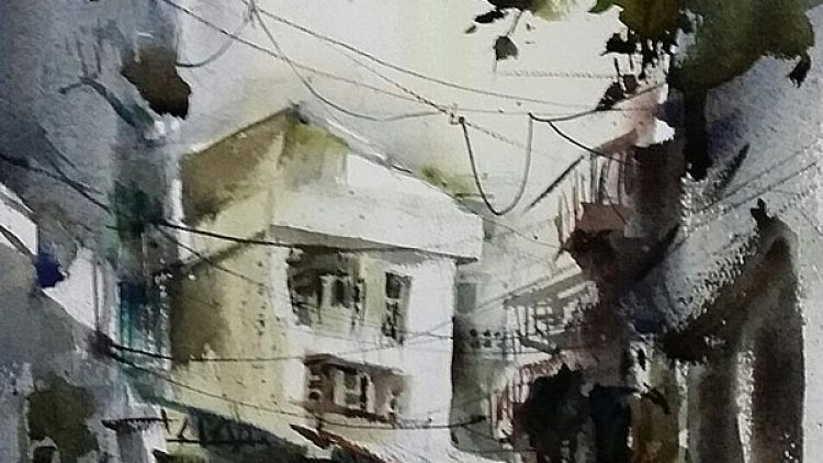 International Watercolor Painting in Shantou