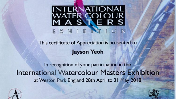 """International Watercolor Masters Exhibition"", UK"