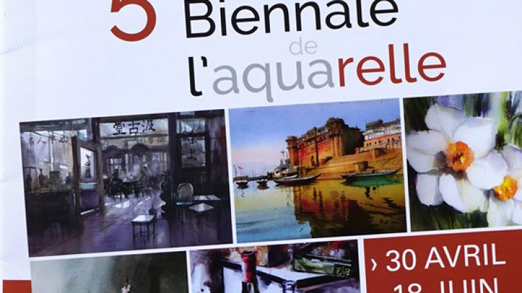 The 5th International Biennial of Watercolor SAINT-CYR-MER magazine